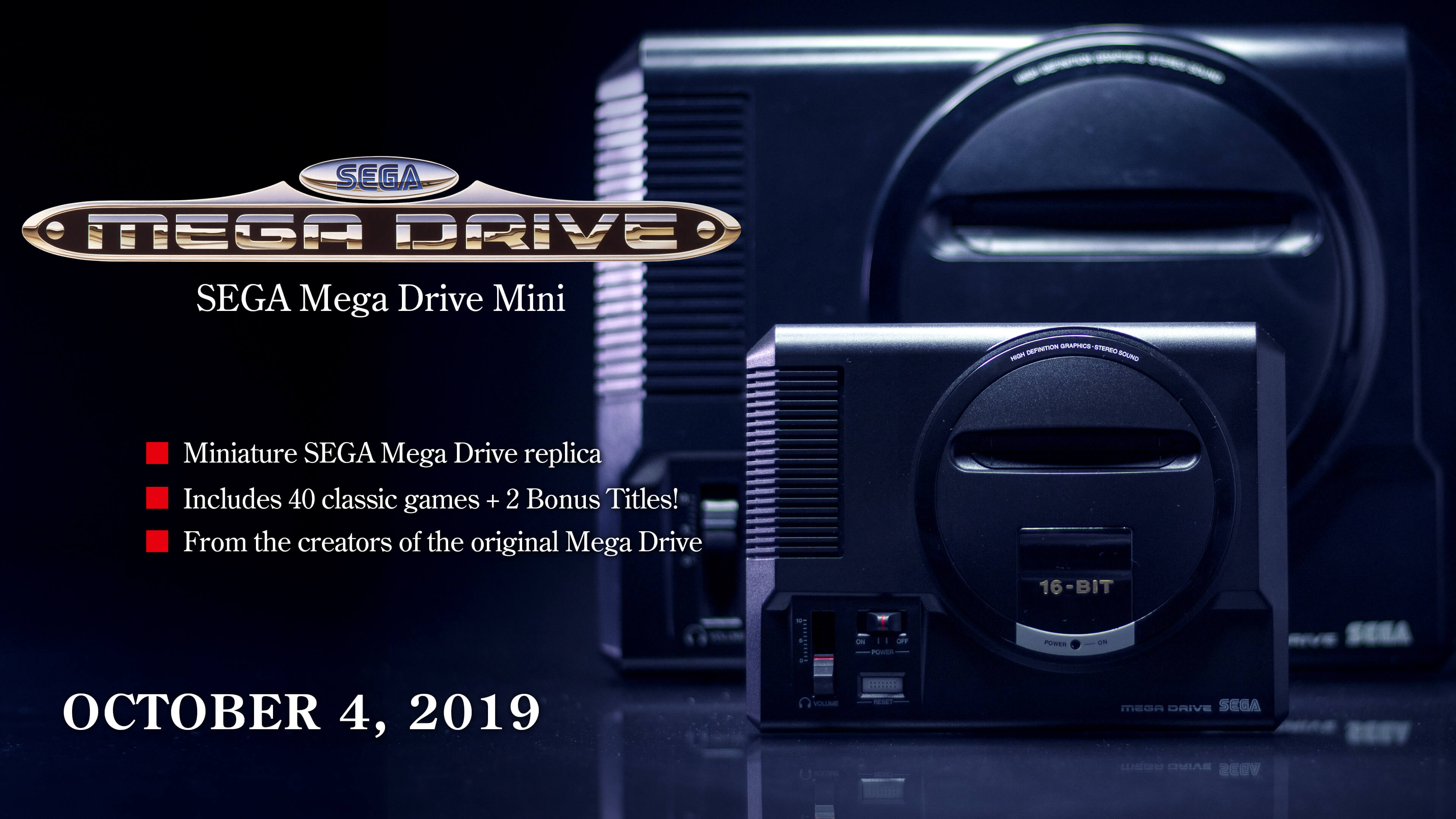 SEGA Mega Drive Mini | Official Website